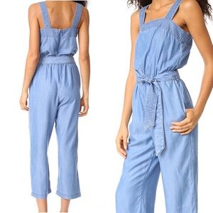 MINKPINK Chambray  jumpsuit with pockets!